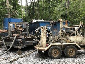 Pump trailer